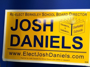 Candidate for the Berkeley School Board